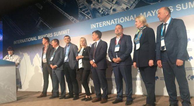 Глибоцька ОТГ була відзначена спеціальним призом на Міжнародному саміті