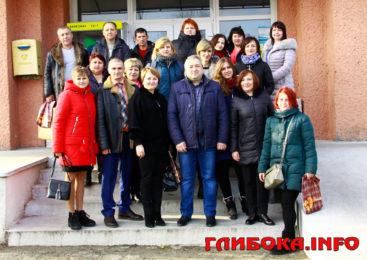 Делегація Білозірської ОТГ з Черкащини завітала у Глибоцьку громаду для обміну досвідом