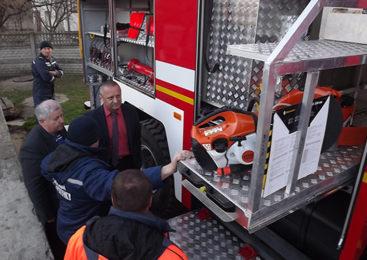 Глибоцьке РС УДСНС отримало новий пожежно-рятувальний автомобіль