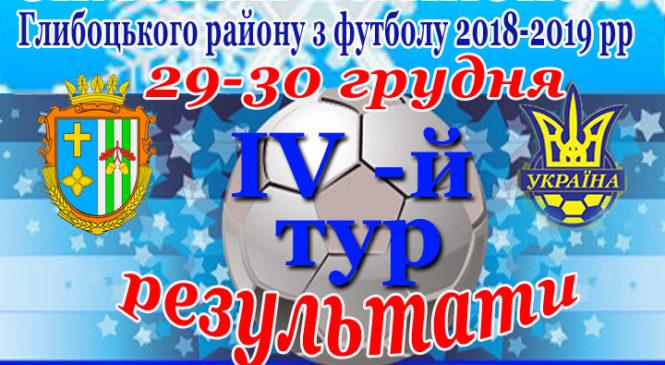 Зимовий чемпіонат Глибоцького району з міні-футболу (четвертий тур)