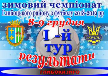 Стартував зимовий чемпіонат Глибоцького району з футболу 2018-2019 рр