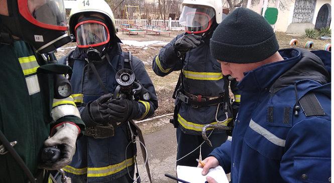 Рятувальники провели навчання у Глибоцькому ДНЗ «Сонечко»
