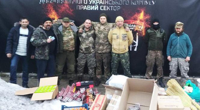 Волонтери з Глибоччини здійснили поїздку в зону війни
