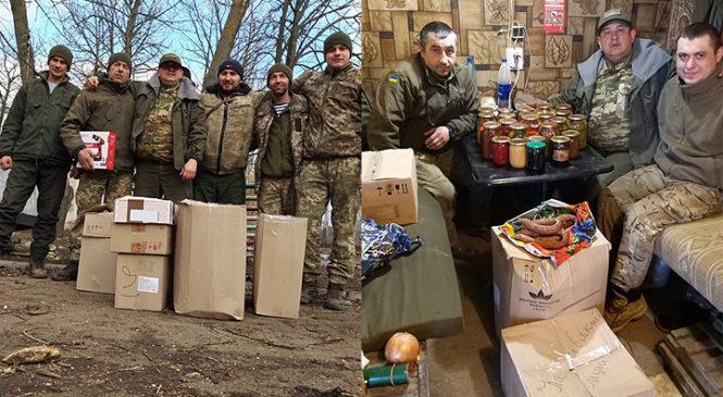 Чергову поїздку у зону ООС здійснили Глибоцькі волонтери