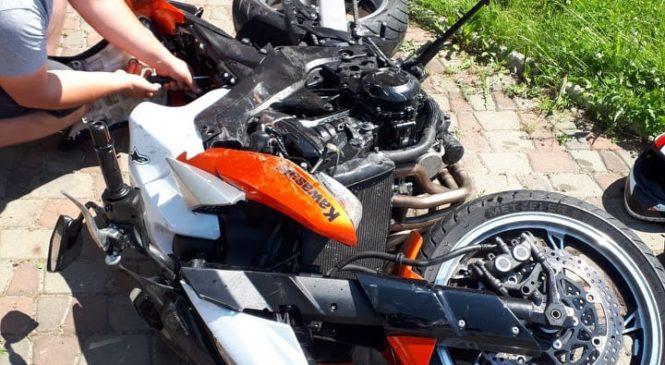 У Коровії Глибоцького р-ну мотоцикліст отримав травми внаслідок зіткнення з авто