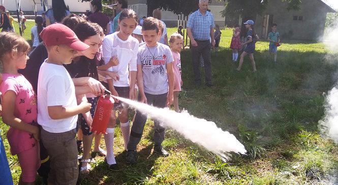 Рятувальники відвідали Чагорську ЗОШ