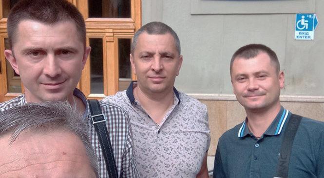 Ініціативна група з Глибокої прибула у Львів для консультацій із залізницею