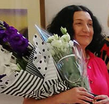 Художниця, уродженка с. Камянка Лариса Куваєва днями відзначила свій ювілей