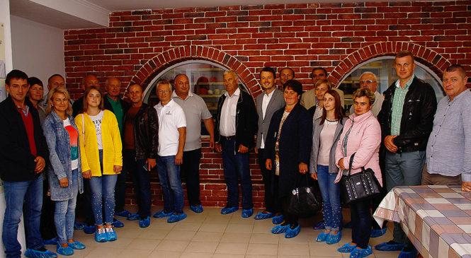 Делегація трьох областей відвідала Михайлівський кооператив «Добрі Ґазди»