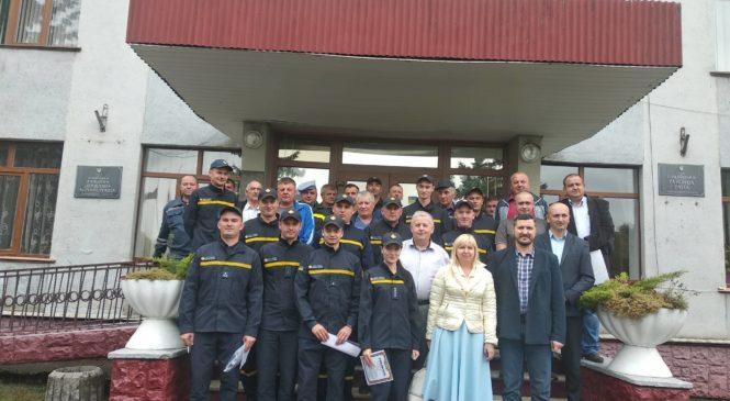 Рятувальники провели урочисті заходи з нагоди професійного свята