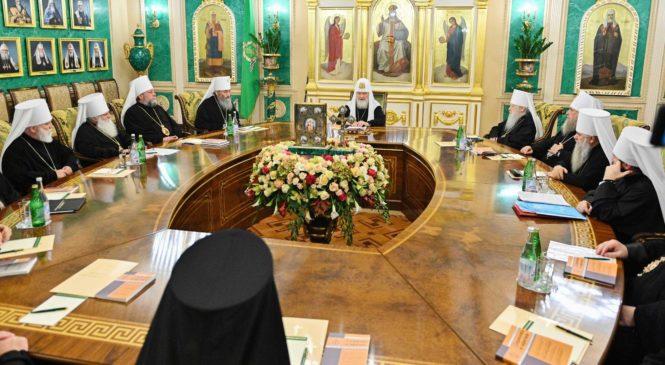Відбулося надзвичайне засідання Синоду РПЦ у зв'язку з визнанням ПЦУ Елладською Православною Церквою