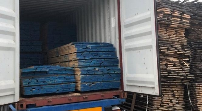 З Буковини на Близький Схід нелегально експортували лісопродукцію