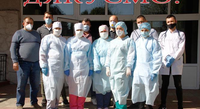 Для Глибоцької районної лікарні закупили дев'ять нових кисневих концентраторів