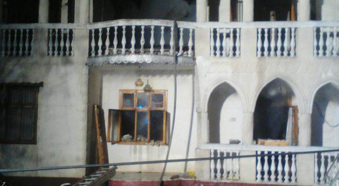 У селі Карапчів Глибоцького району горів житловий будинок