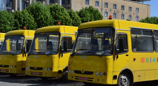 Шкільний автопарк Глибоцького району поповнився ще двома новими автобусами