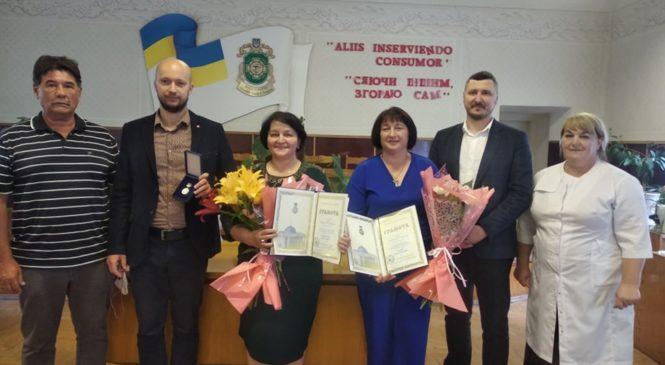 Двоє медиків Глибочини отримали грамоти Верховної ради України