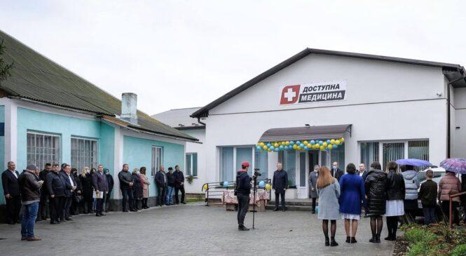 Ще одна амбулаторія урочисто була відкрита у селі Молодія Глибоцького району