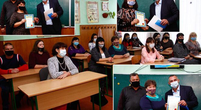 До Дня працівників освіти начальник відділу освіти Глибоцької ОТГ Юрій Чубрей привітав  освітян громади