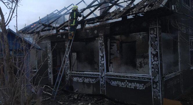 У селі Молодія пожежа у житловому будинку нанесла збитків на 100 тис грн. та загинув чоловік