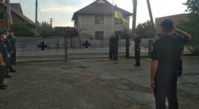 Глибоцькі рятувальники відзначають 30-ту річницю Незалежності України
