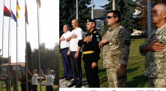Урочистості до Дня Держа́вного Пра́пора Украї́ни у Глибоці  у 2021 році