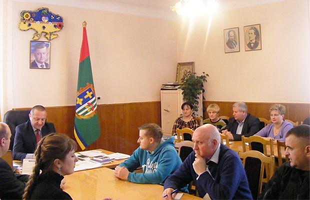 Голова РДА представив публічний звіт про розвиток району за 2016 рік