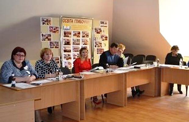 Атестація педагогічних працівників Глибоцького району