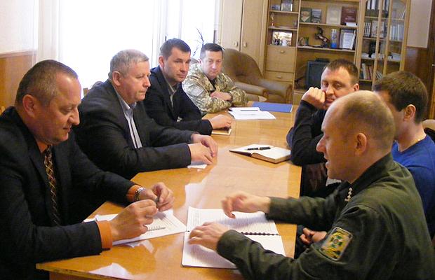 Відбулась робоча зустріч з новопризначеним начальником Чернівецького прикордонного загону
