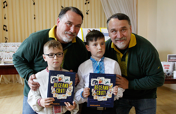 Брати Капранови у Глибоці: розповідали про книги та ділились власними історіями
