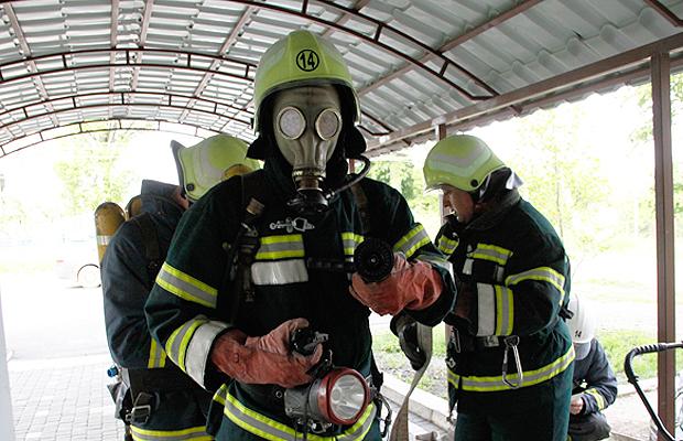 Рятувальники провели навчання в лікарні