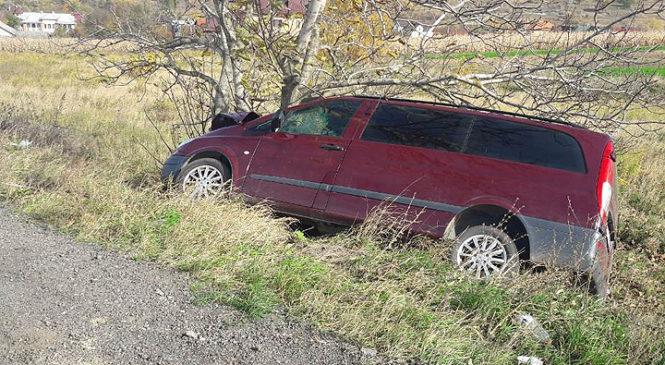 У Валі Кузьміні автомобіль зіткнувся з деревом