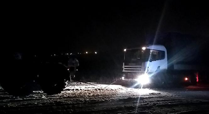 Снігопад заподіяв незручності на дорогах