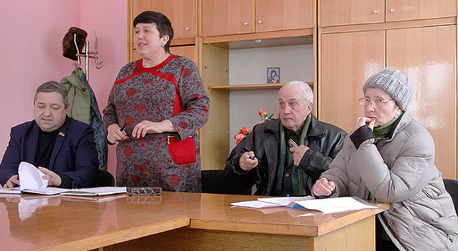 Готуємось до виборів. Збори у селі Черепківка