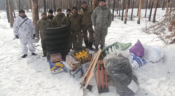 Волонтери в черговий раз відправили допомогу військовим у зону АТО
