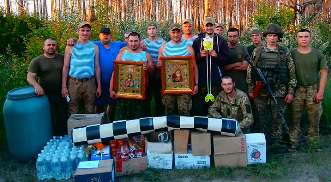 Волонтери при Глибоцькій районній раді в черговий раз відправили допомогу військовим на Схід України