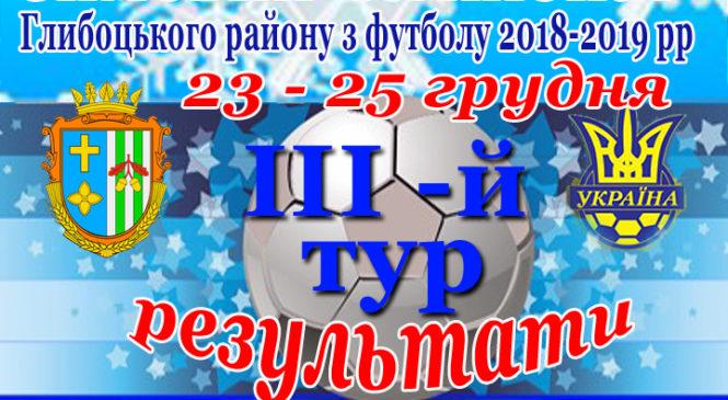 Зимовий чемпіонат Глибоцького району з міні-футболу (третій тур)