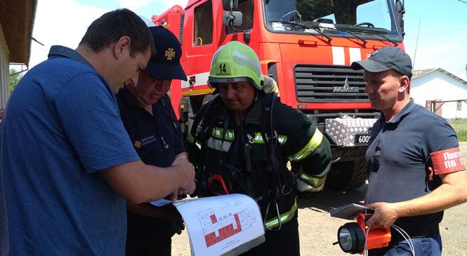 Рятувальники навчають правилам пожежної безпеки