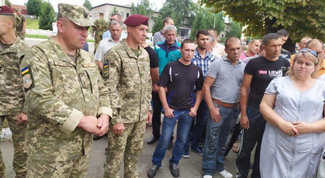 На базі військової частини А2582 (м.Чернівці) відбувся День відкритих дверей