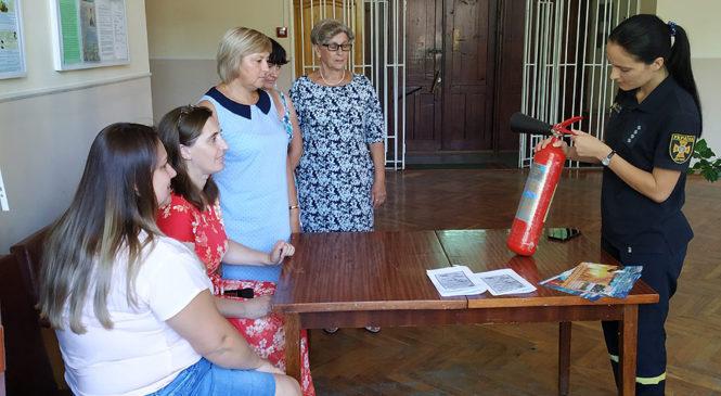 Проведено навчання з правил пожежної безпеки