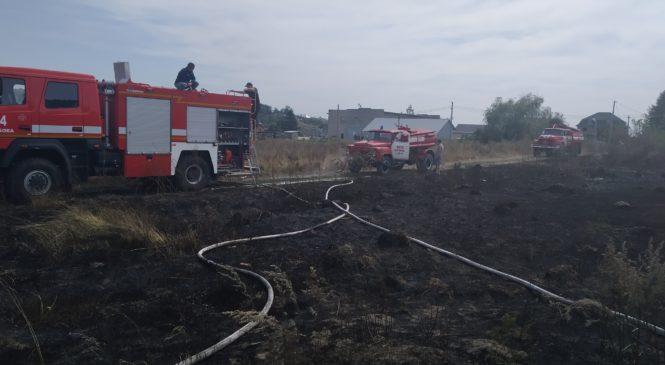 08 та 09 вересня в Глибоцькому районі виникло 3 пожежі