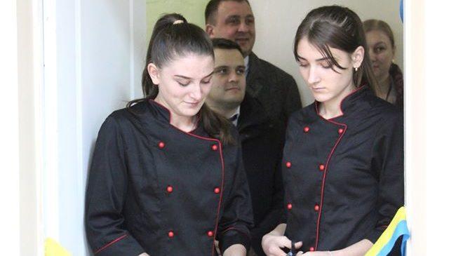 У Глибоцькому професійному ліцеї відбулося відкриття двох навчально-практичних центрів