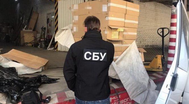 Контрабанду підроблених цигарок до ЄС на майже 6 мільйонів гривень попередила СБУ на Буковині