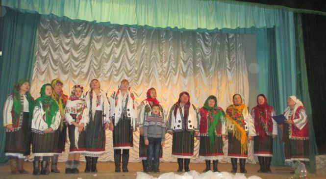 """В будинку народної творчості та дозвілля села Черепківці відбулася музична феєрія """"Легенди святого Різдва"""""""