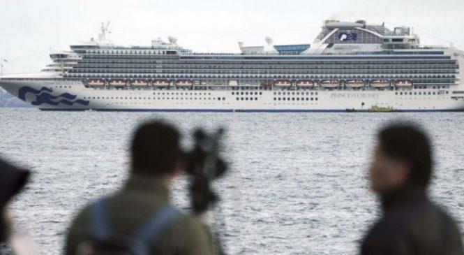 Українець заразився коронавірусом на лайнері в Японії