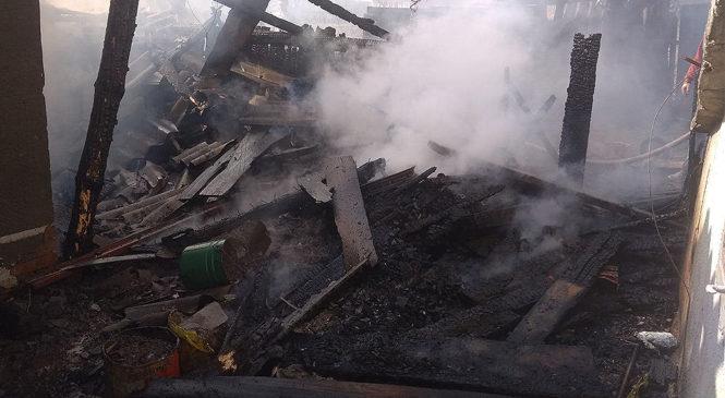 Причиною пожежі у селі Кам'янка стало коротке замикання проводки