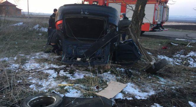 У селі Слобідка автомобіль AudiА6 злетів у кювет, є постраждалі