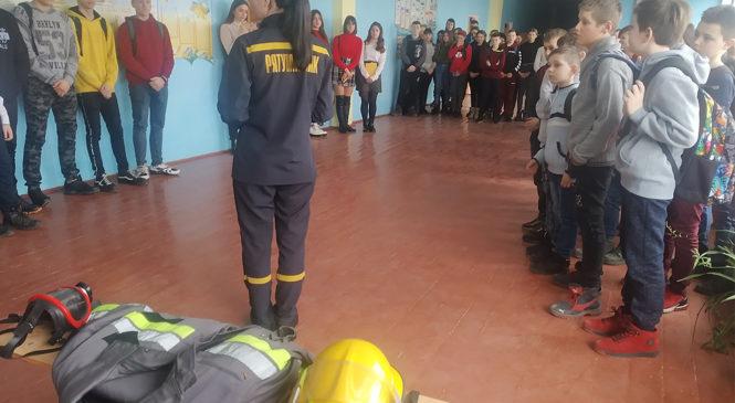 Глибоцькі рятувальники відвідали Димківський НВК
