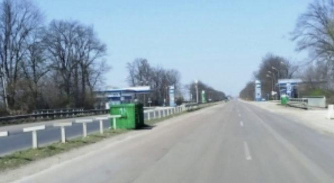 Поблизу ПП «Порубне» встановили 25 додаткових сміттєвих баків