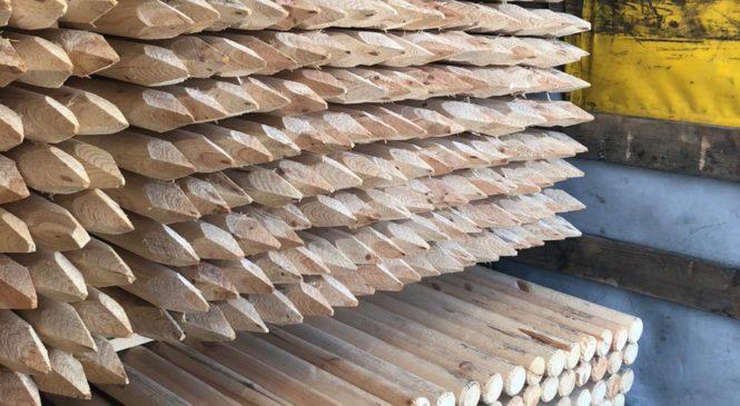 """Буковинські митники вилучили 30,649 м3 товару """"кілки загострені, для садівництва"""" вартістю понад 207 тисяч гривень"""