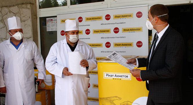 ПУМБ і Фонд Ріната Ахметова передав апарат ШВЛ CWH-3010 та монітор пацієнта М9500 для Глибоцької ЦРЛ